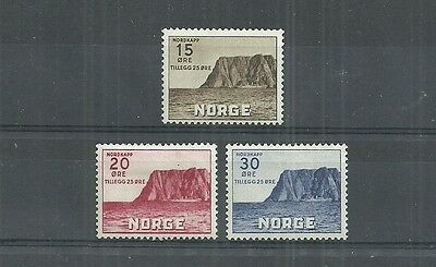 Norway Stamps #b1-B3 Set Of 3 (Hinged) From 1933.