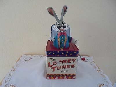 Vintage 1994 Bugs Bunny Jack in the Box