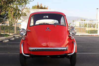 1958 BMW Isetta  1958 BMW Isetta in Red / Only 4,768 Miles since Fully Restored