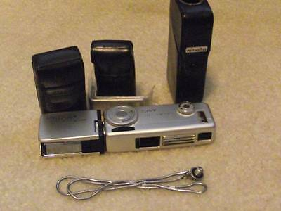 Minolta 16 Mg Subminiature 16Mm Camera Outfit - Excellent
