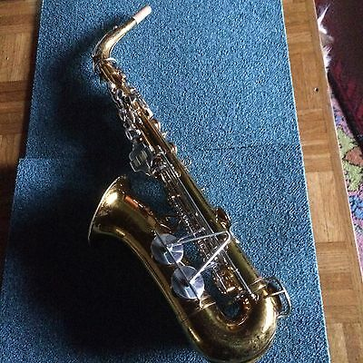 "VINTAGE SAXOPHONE ALTO H&N WHITE Co (KING CLEVELAND 613) ""READY TO PLAY"""