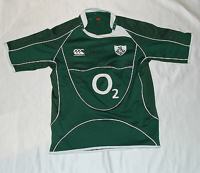 Brian O'Driscoll Signed Ireland Rugby Union Shirt with COA
