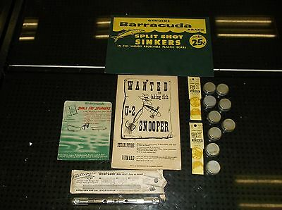 Vintage Fishing Advertising Other Lot Rare