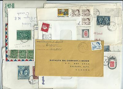 Canada LOT of COVERS (10) : USED in GOOD Condition (#1)