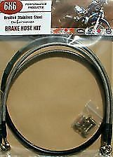 Front & Rear Brake Hose Kit Honda CR125 CR250 CR500
