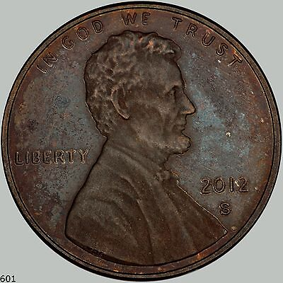 2012s Lincoln Cent Shield Reverse PROOF, Black and issues like none you have see