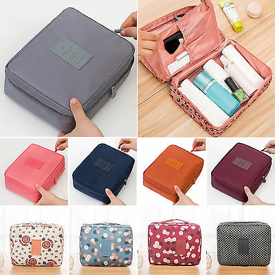Travel Cosmetic Makeup Bag Toiletry Case Storage Hanging Pouch Wash Organizer