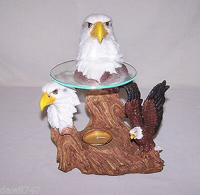Freedom's Light Eagle Bust Oil Warmer