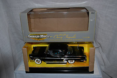 1958 Chevy Impala 2dr Ht 1/18 scale, diecast, American Muscle, Ertl Collectibles