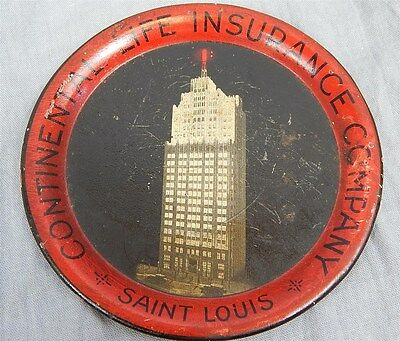Early Tip Tray~ Continental Life Insurance~Skyscraper