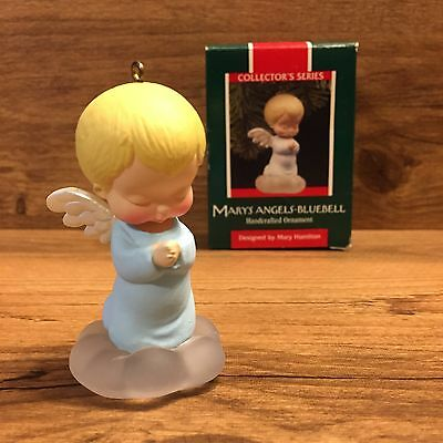 MIB 1989 Hallmark Ornament - MARY'S ANGELS - BLUEBELL - #2 in Series - QX4545