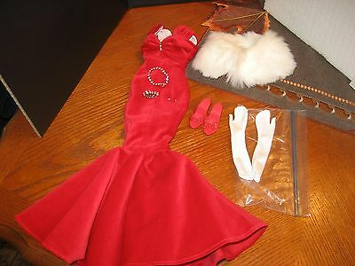 """Tonner-Kitty Collier Scarlet Glamour Outfit-Jewelry-Shoes For 18"""" Doll"""