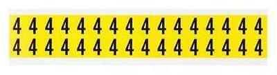 Carded Numbers and Letters, 4, PK32