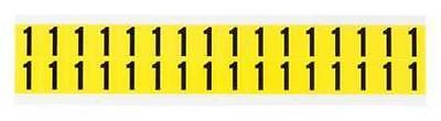 Carded Numbers and Letters, 1, PK32