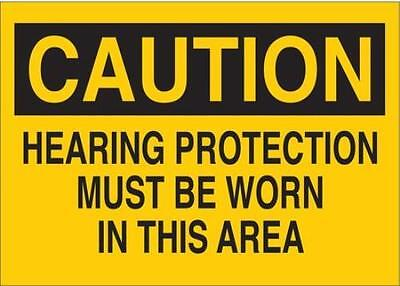 G7472561 Safety Label, 5 In. W, 3-1/2 In. H 2PK