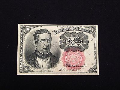 United States 1874 10C Fractional Currency