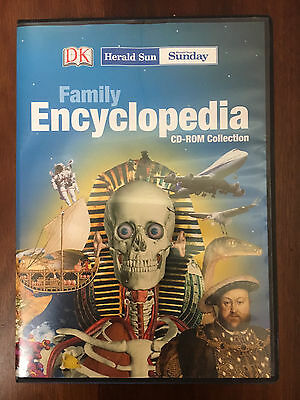 Dorling Kindersley Herald Sun Family Encyclopedia CD-ROM collection - 2001