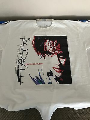 The Cure Bloodflowers T-Shirt Robert Smith Vintage Concert Shirt
