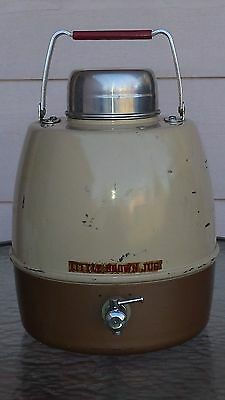 Vintage Little Brown Jug Water Cooler by Hemp and Co., Inc.
