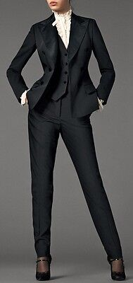Peak Lapel Women Ladies New Style 3 Piece Business Office Tuxedos Work Wear Suit