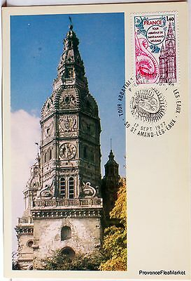 Yt 1948 SAINT AMAND LES EAUX     FRANCE   CARTE MAXIMUM 1° JOUR FCP