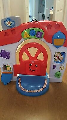 Fisher Price Laugh and Learn House /Home /Door