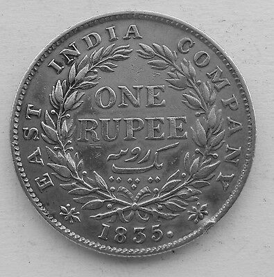 1835 East India Company 1 Rupee