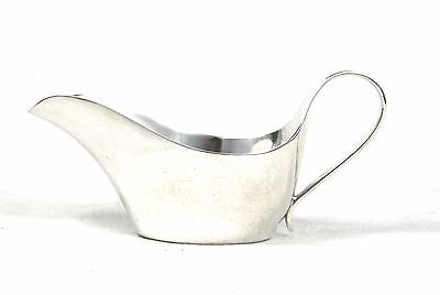 Antique Edwardian Elkington & Co Silver Plated Sauce Boat Small 1907