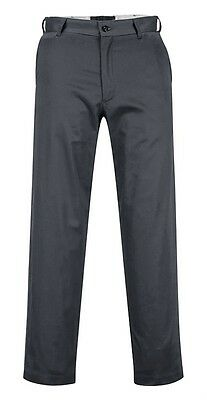 6 Pack - Portwest 2886 Industrial Work Pants 40R Charcoal