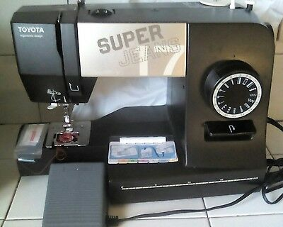 Toyota Super Jeans 17 Light Weight Sewing  Machine