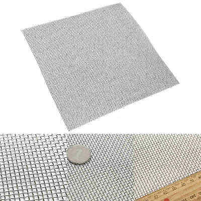 30x30cm Stainless Steel 10 Mesh Woven Wire Filter Fine Sheet Cloth Screen Filter