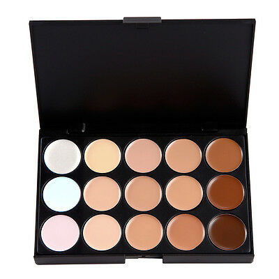 NEW 15 Color Contour Cream Concealer Kit Neutral Makeup Camouflage Palette SALE