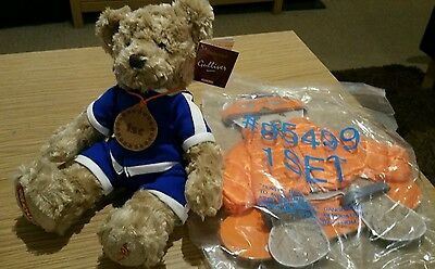 EasyJet Gulliver bear with a separate outfit. BNWT.