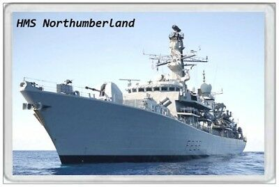 Hms Northumberland - Jumbo Fridge Magnet - Royal Navy Ship Janes T23 Duke Class