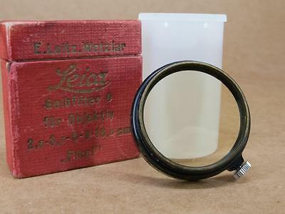 Leitz Leica FIHEL / 13000 A36 No 0 Very Light Yellow Filter - Boxed