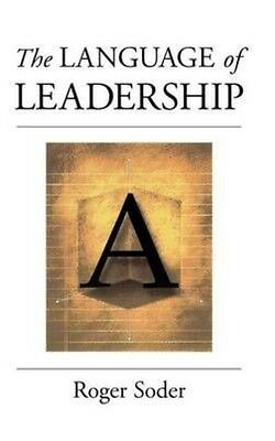 The Language of Leadership by Roger Soder Hardcover Book (English)