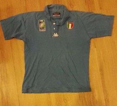 Italian 2003 world cup rugby jersey large