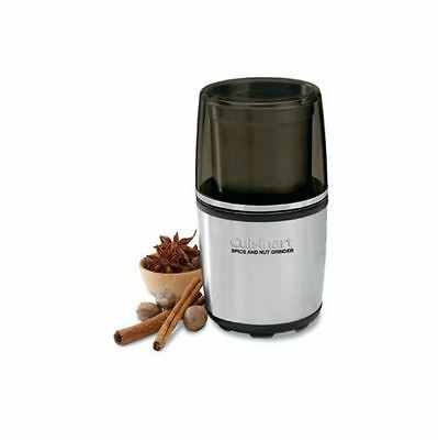 New Cuisinart Nut and Spice Grinder Kitchen Cookware Stainless Steel Bowl Cook