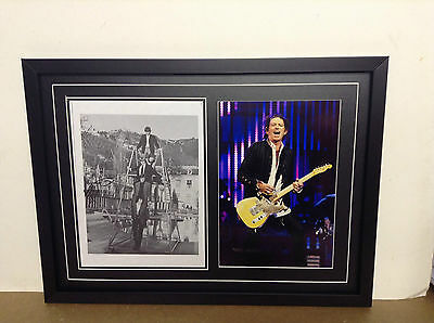 Keith Richards Hand Signed Photograh with COA