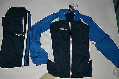 umbro mens millwall tracksuit navy/royal/white umb0176