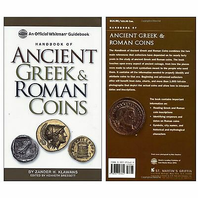 Numismatic Books Coin Album Handbook Of Ancient Greek And Roman Coins Guidebook
