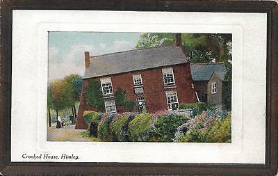 Old Postcard Crooked House Himley Staffordshire