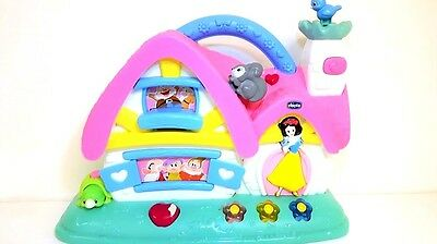 Chicco Disney Princess Snow White and the Seven Dwarfs House ***PRE-OWNED***