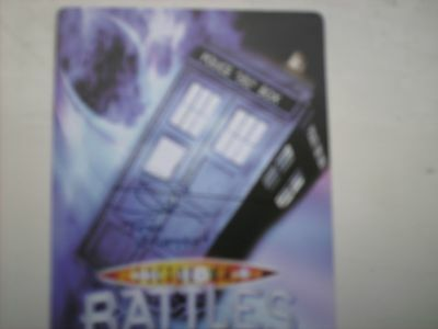 Doctor Who - Battles in Time card signed by JOHN GRAYSON