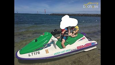 Sea Doo Jet Ski Gtx 1995 3 Seater