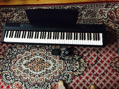 Yamaha P 105  Digital Full size Piano 88-key weighted keyboard,Boxed, Delivery