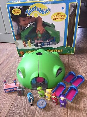 Teletubbies Home Hill Playset By Golden Bear The Tubbytronic Superdome Complete