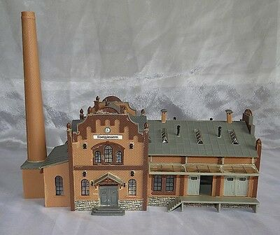 Old Style Factory, Three Sections, Faller, N Gauge / N Scale