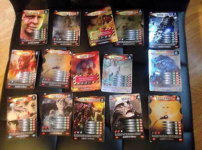 Dr Who Battles in Time Cards, Rare and Ultra Rare Cards