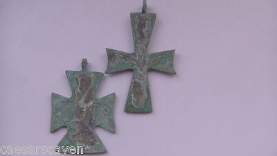 ANCIENT - BYZANTINE BRONZE CROSSES - 2th -4th c.A.D